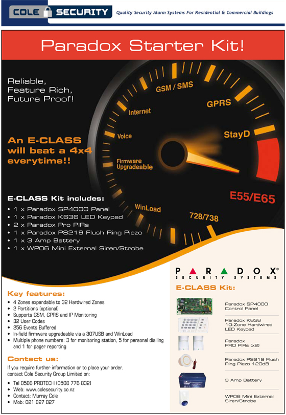 Starter pack spectra paradox alarms auckland installed price solutioingenieria Choice Image